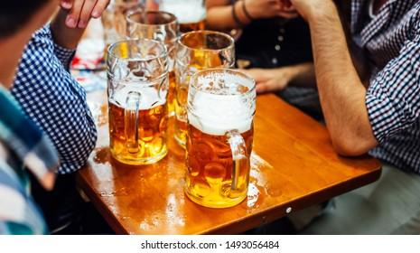 Beer at Oktoberfest, Munich, Germany