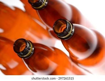 Beer plastic bottles