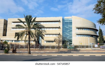 BEER SHEVA, ISRAEL - DECEMBER 05, 2016: Training Training building of Ben Gurion University in Beer Sheva