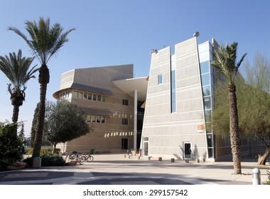 BEER SHEVA, ISRAEL - DECEMBER 29, 2012: Training housing Ben Gurion University in Beer Sheva