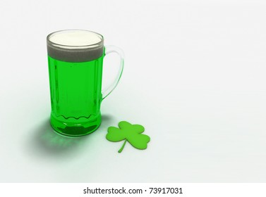 Beer for the St. Patrick's Day.