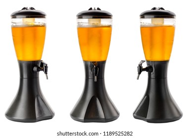 Beer tower with tap