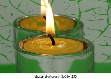 Beeswax, wax candle