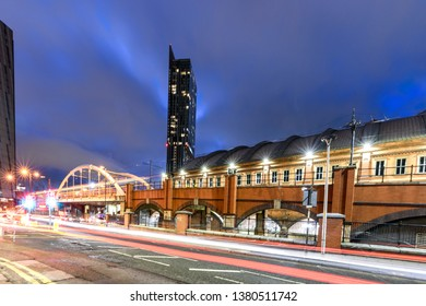 Beetham tower used to be the tallest building in Manchester.