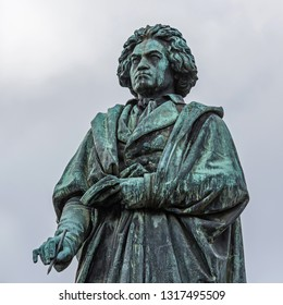 The Beethoven Monument in Bonn; Germany