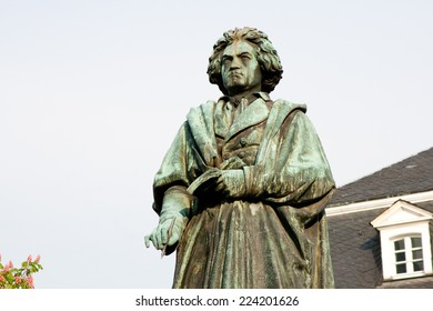 Beethoven monument in Bonn, Germany
