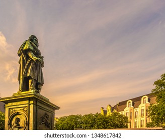 Beethoven Monument in Bonn, Germany.It was unveiled on 12 August 1845, in honour of the 75th anniversary of the composer's birth.