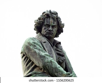 Beethoven monument Vienna from 1870
