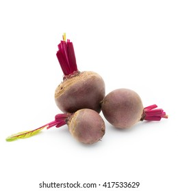 Beetroot isolated on the white background.
