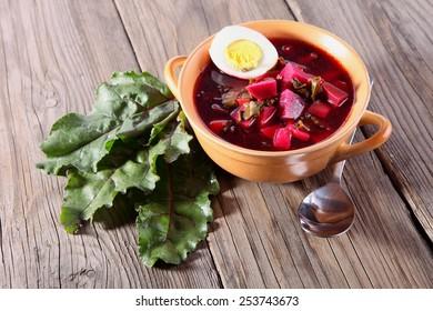 beetroot soup - borscht