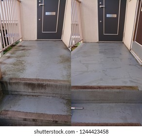 Before after House cleaning