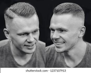Frisur Vorher Nachher Images Stock Photos Vectors