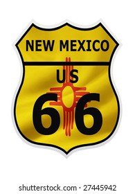 Before the interstate highway Route 66 was the travel road from Illinois to California.