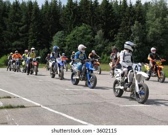 Before moto start