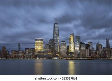 Before rain at Manhattan, New York City