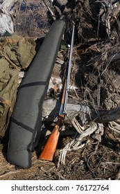 before the spring hunt. hang cooked charged guns