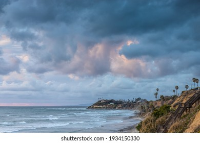 Before the storm in Cardiff by the Sea CA