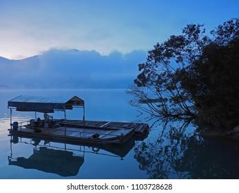 Before the Sunrise in Sunmoon Lake, Taiwan