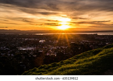 Before sunset in Auckland
