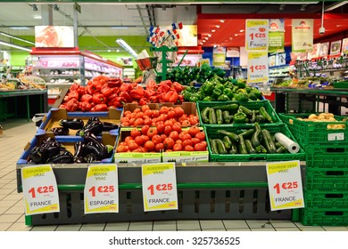 Supermarket France Images, Stock Photos & Vectors | Shutterstock