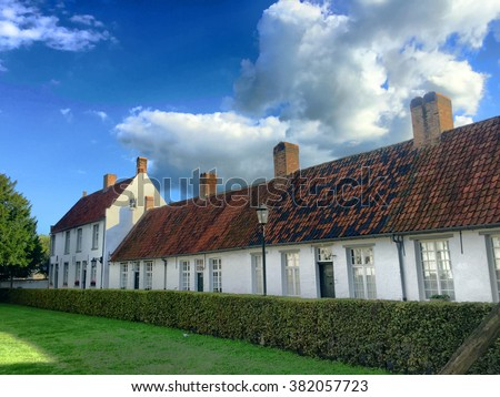 Beguinage of Hoogstraten, Belgium