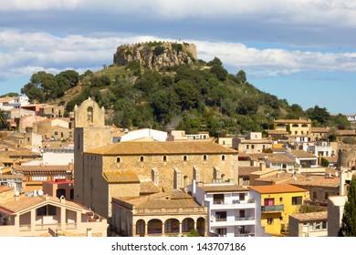 Begur village in Girona, Costa Brava, (Catalonia, Spain)