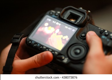 Behind Camera view image