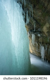 Behind The Ice Fall