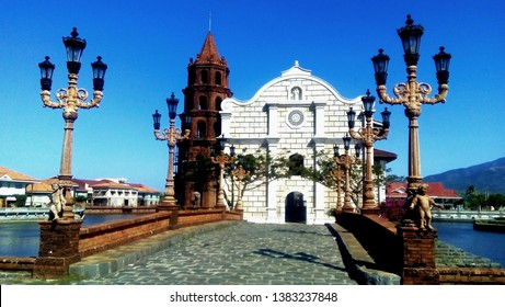 Behold the intricate and beautiful architectural design of restored old church in Las Casas Filipinas de Acuzar.