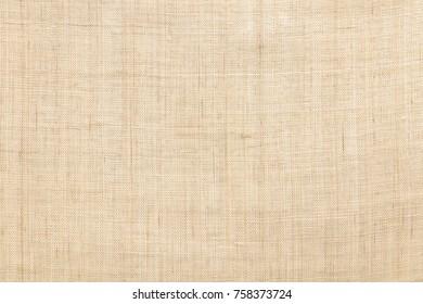 beige colored hemp cloth texture background