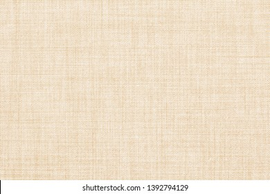 beige colored seamless linen texture or fabric background
