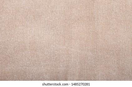 Beige cotton fabric texture background