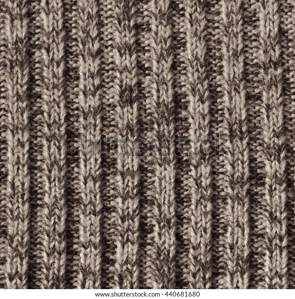 Beige knitted wool texture can use as background