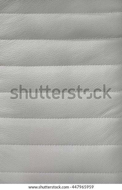 Beige  leather background with stitching, texture, pattern