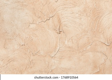 Beige low contrast smooth decorative plaster concrete textured background. Abstract soft neutral antique artistic backdrop texture to your concept or product - Shutterstock ID 1768910564