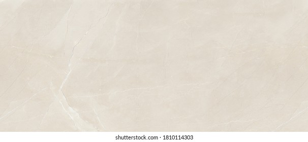 Beige Marble Texture Background, High Resolution Italian Slab Marble Stone For Interior Abstract Home Decoration Used Ceramic Wall Tiles And Granite Tiles Surface.