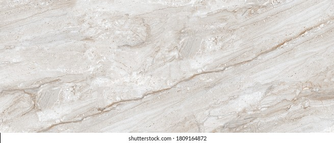 Beige Marble Texture Background, Natural Breccia Marble Texture For Abstract Interior Home Decoration Used Ceramic Wall Tiles And Floor Tiles Surface.