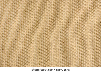 beige polo shirt fabric knit texture