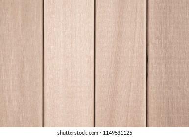 Beige wooden boards, battens, fence, blocks, bars.
