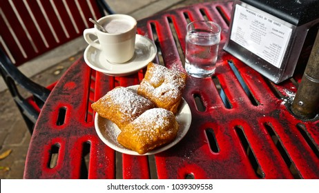 Beignets and Hot Cocoa at Morning Call