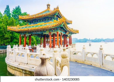 Beihai Park. Located in Beijing, China.