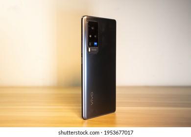 Beijing, China - 11 April 2021: vivo X60 Pro
