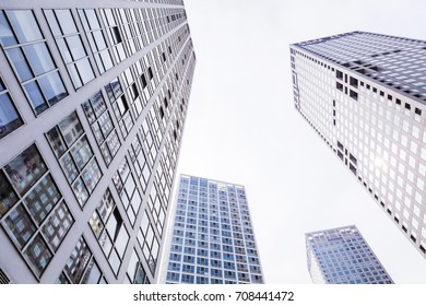 Beijing - China - August 31,2017: Central Business District of Beijing. It is the home of many high-end enterprises such as finance, insurance, real estate and internet.