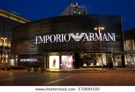 b1ce0298d41b BEIJING CHINA JAN 12 2014 Emporio Stock Photo (Edit Now) 170884100 ...