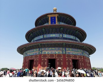 Beijing, China - May 1, 2019: The Temple of Heaven
