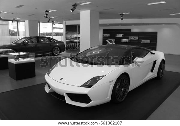 2016 Lamborghini Gallardo >> Beijing Feb 20 2016 Lamborghini Gallardo Stock Photo Edit Now