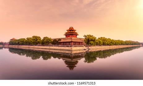 Beijing Forbidden City Turret