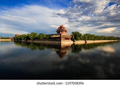 Beijing Forbidden City Turret