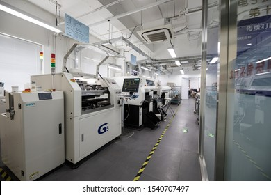 BEIJING, СHINA - JUNE 03: Laboratory for manufacture of high-tech chip elements in China.