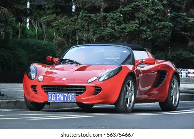 Beijing - June 9, 2015: Lotus Elise.